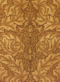 Vintage Rococo Leaves Wedding Paper