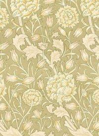 Vintage Victorian Floral Print Wedding Paper