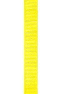 Daffodil Yellow Grosgrain Ribbon Invitation Belts
