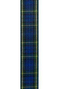 Blue Plaid Ribbon to Wrap Invitations