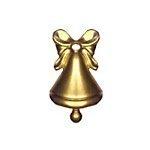 Bell Brass Charms