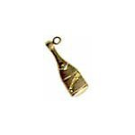 Champagne Brass Charms