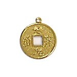 Chinese Coin Brass Charms