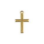 Cross Brass Charms