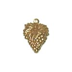 Grapes Brass Charms