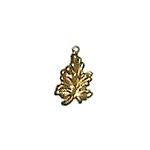 Leaf Brass Charms