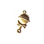 Baby Rattle Brass Charms