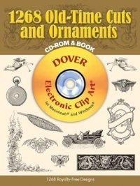 Invitation Clip Art Book & CD - 1268 Old-Time Cuts and Ornaments