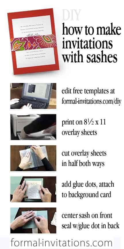 Easy DIY Wedding Invitations using Fine Paper Wraps