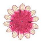 Large Embossed Pink Paper Petals