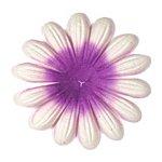 Large Embossed Purple Paper Petals