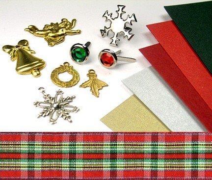 Christmas invitation embellishments