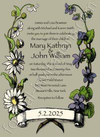daisy violet invite